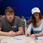 Chris Moneymaker and Marion Nedellec
