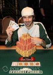 Jason Mercier - Event #5 Champion