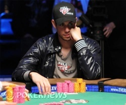 Schulman is closing in on his first bracelet.