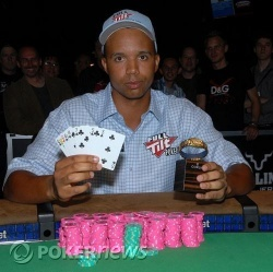 The look of a seven time bracelet winner