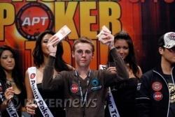 2009 APT Macau Champion - Adrien Allain