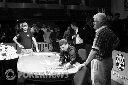 Shulman doubles through Negreanu