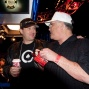 Phil Hellmuth and T.J Cloutier