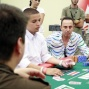 Amer Sulaiman stares down final table nemesis Eric Levesque