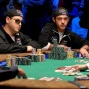 Eric Buchman and Joe Cada are both all-in with Big Slick