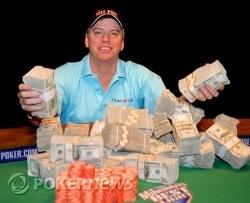 Blair Rodman, Winner WSOP $1000 Deuce to Seven Triple Draw Lowball w/Rebuys Event #48