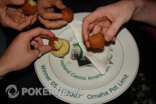 A winner's plate