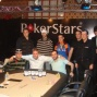 Line up van de Final Table