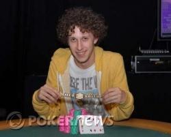 Andrew Brown, winnaar van event 16