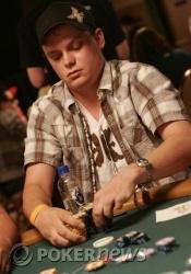 Cody Slaubaugh zit 'in the zone'