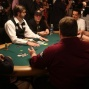 Jamie Gold, Carlos Mortensen, Harrington, Johnny Chan en Greg Raymer