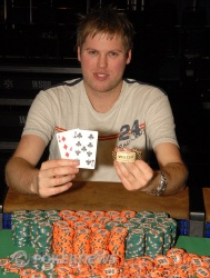 Simon Watt, $1,500 No-Limit Hold'em winner