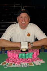 Frank Kassela, Event#15 Champion!