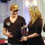 Eiler, presentado para recibir el trofeo