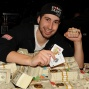 Jonathan Duhamel 2010 WSOP World Champion poker player