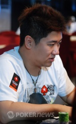 Bryan Huang is leading the charge for Team PokerStars