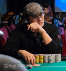 Chip Leader Kim Gap Young
