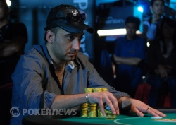 Fabiano Michael now has the chip lead