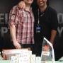 Champion Jonathan 'xMONSTERxDONGx' Karamalikis with Paul Khoury
