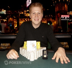 Congratulations to Soren Blanner, Event #4 winner!