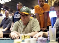 Chip leader Randy Dorfman