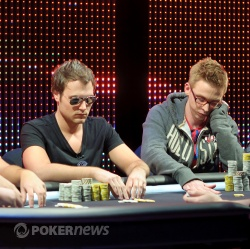 Tobias Reinkemeier and Eli Heath from the feature table