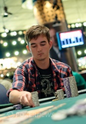 Ben Delaney Eliminated in 4th Place (AUD $40,500)
