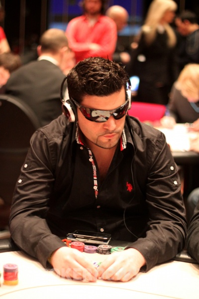 Tomer Berda at EPT Copenhagen, Day 1B. Photo ©PokerNews.com