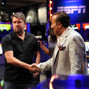 Chris Moneymaker and Sam Farha