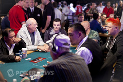 Dave Stann and Men Nguyen getting chippy