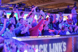 Jake Cody's fans at the $25,000 Heads-Up Championship