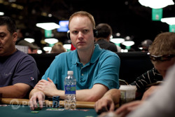 Jon Turner, Chip Leader After Day 1b