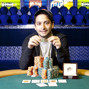 Allen Bari, winner Event 4 $5000 No-Limit Hold'em