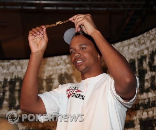 Phil Ivey with number seven