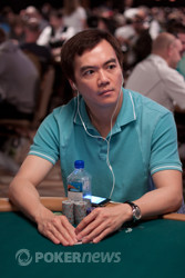 John Juanda looking for his second bracelet at the 2011 WSOP