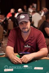 Jean-Robert Bellande second in chips.
