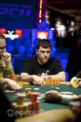 Aaron Steury Pulling Away At Final Table