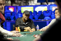 Denis Ethier Finds A Flush At Final Table