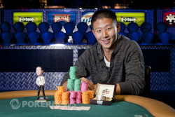 Chris Lee has a long hill to climb if he wants to repeat this scene from Event #29