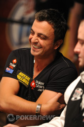 Joseph Hachem is looking to capture his second gold bracelet here today.