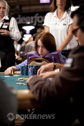 Melanie Weisner (pictured): searching for her first WSOP bracelet on Day 3