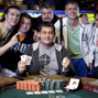 Mikhail Lakhitov winner of event 36, 2.5k No limit hold'em