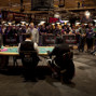 The Rail during the heads up.