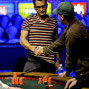 Antonio Esfandiari is eliminated in 7th place.
