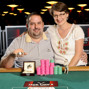 Event 44 bracelet winner Rep Porter and his wife.
