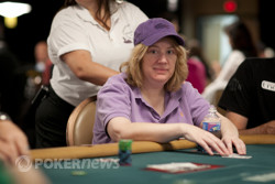 Kathy Liebert will forgo the Ladies Event as she returns for Day 2 tomorrow.