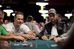 Marco Traniello and Daniel Negreanu