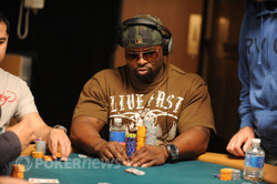 Day 1 Chip Leader Gary Bolden