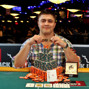 Event 54 bracelet winner Maxim Lykov