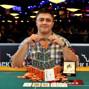 Event 54 bracelet winner Maxim Lykov